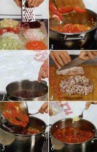 как готовить борщ из говядины