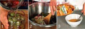 стадии приготовления капусты провансаль