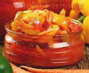 Рецепт чили из болгарского перца