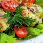 """Котлеты рубленые """"Легкие"""" из куриного филе с сыром и зелнью"""