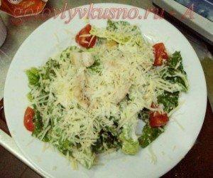 салат цезарь - простой рецепт приготовления