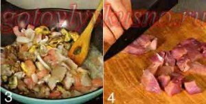 семгу и морепродукты обжарим