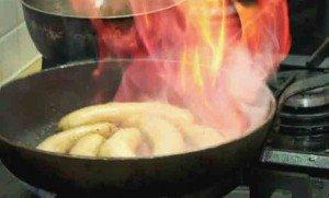обжарим бананы