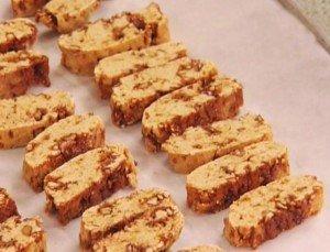 Бискотти с орехами от Найджелы Рейчел