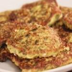 Котлеты из кабачков с зеленью и сыром Фета