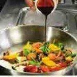 обжариваем овощи с терияки