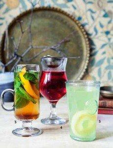 Восточные напитки - мароканский чай, суданская роза, турецкий яблочный чай