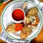 Мясные зразы с сыром