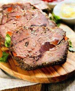 мясо приготовленное при низких температурах