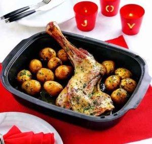 лопатка говяжья запеченная с картофелем в духовке