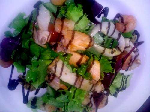 фото салат из морепродуктов в масле