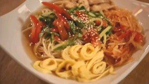 рецепт кукси по-корейски от Виолы Ким