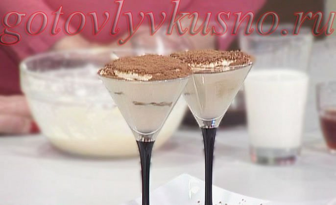Простой тирамису, пошаговый рецепт с фото